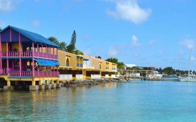 Vier de feestdagen op één van de Caribische eilanden
